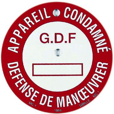 Signalisation gaz