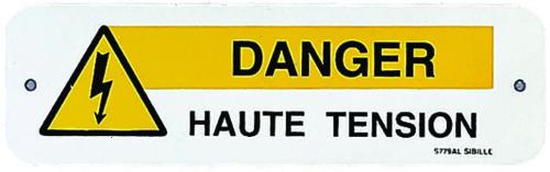 Affiches d'avertissements divers