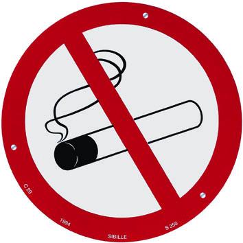 Prévention des risques d'incendie et pancarte de sécurité