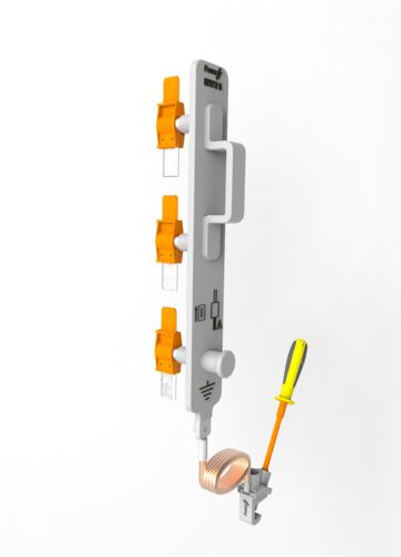 Dispositif pour jeu de barre, tableau ou coffret