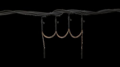 Equipement complémentaire pour réseaux aériens nus et isolés