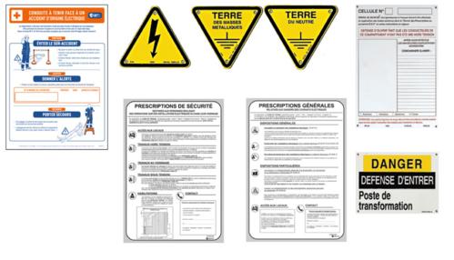 Kits de signalisation de poste